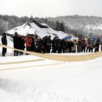 ★売切れ御免★ 冬のイベントシャトルバス・只見川ライン号~第34回昭和村からむし織の里 雪祭り