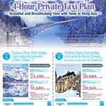 Tadami River 1st bridge 4-Hour Private TAxi Plan