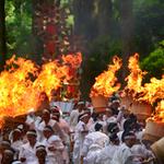 那智の火祭りと伊勢神宮
