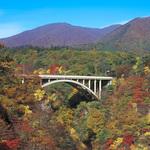 【秋の特選 日帰り】鳴子峡、神秘の潟沼と銀山温泉散策