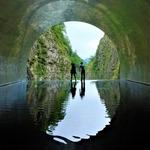 清津峡渓谷トンネル、マルコメの米糀工場と塩沢宿