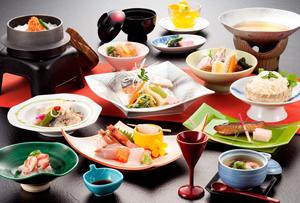 瀬波温泉昼食